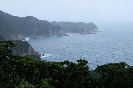 從福江島第二部分看的長崎/五島群島東海