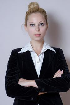 Business style female 1 with arms