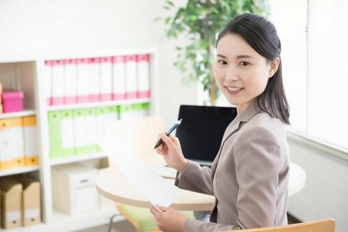 Office work woman 50