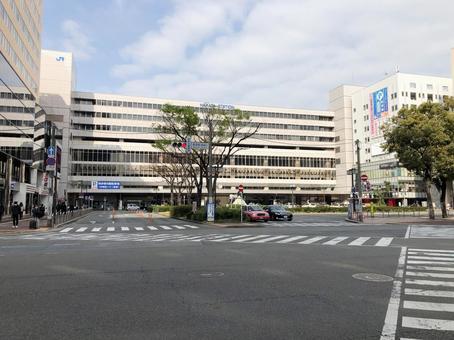 후쿠오카시 하카타 역 (치 쿠시 입)