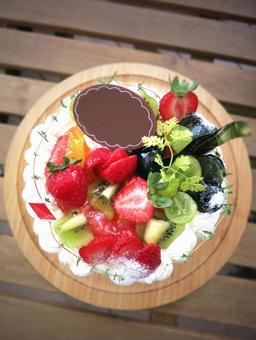 데코레이션 케이크
