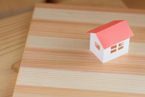 집의 모형 나무 거주 이미지 2