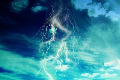 Lightning image texture