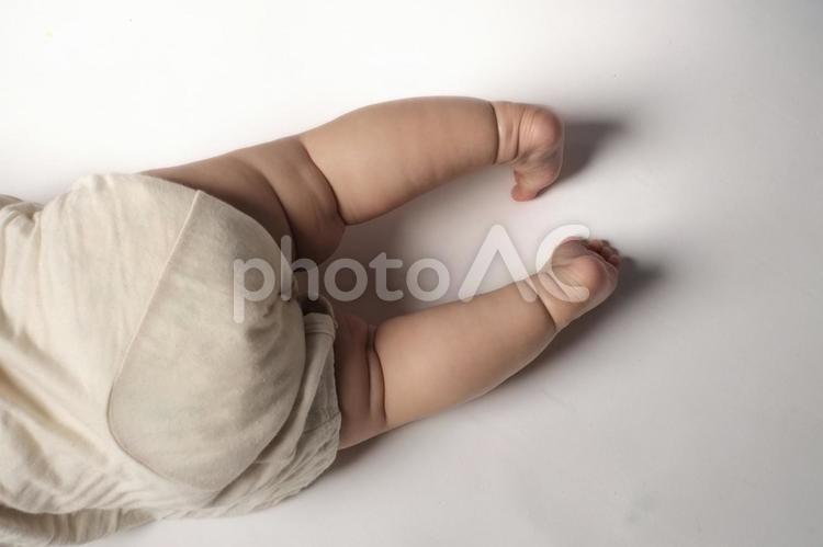 可愛い赤ちゃん 足 4の写真