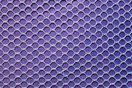 Mesh fabric purple purple