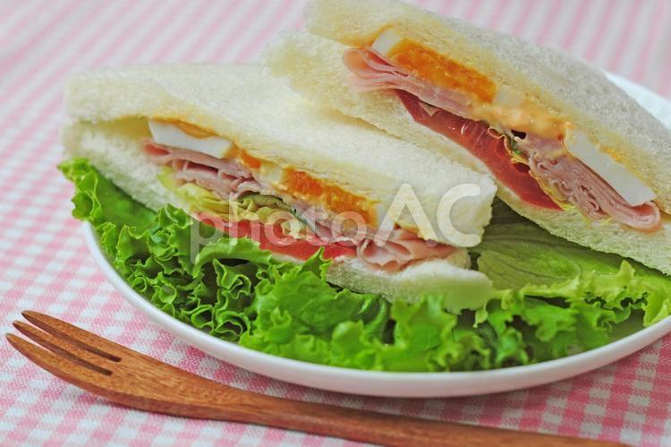 サンドウィッチの写真