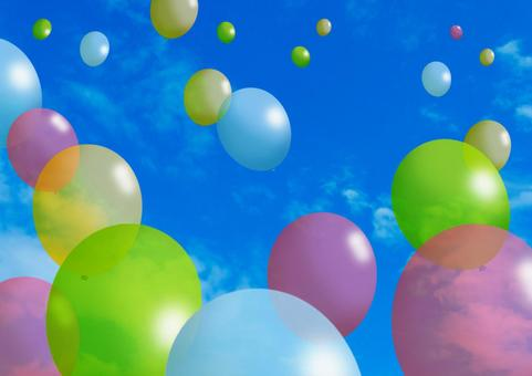 Flying balloons 02