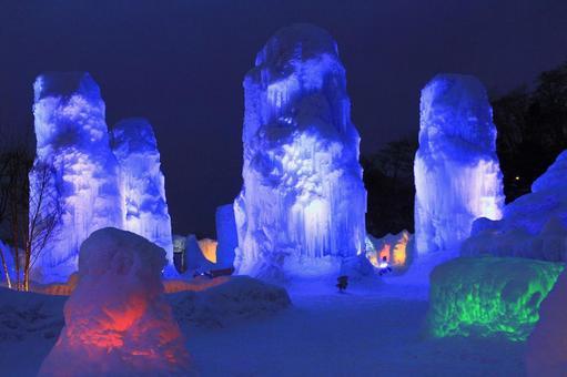 얼음 우의 축제