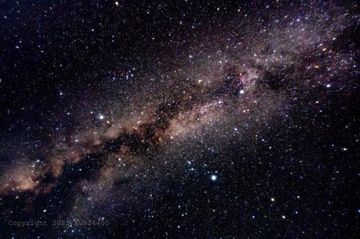 Star Milky Way Summer Triangle