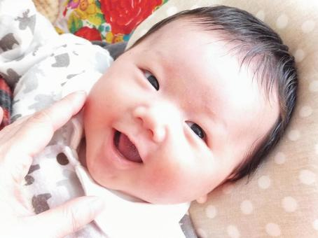 Smiling baby 2