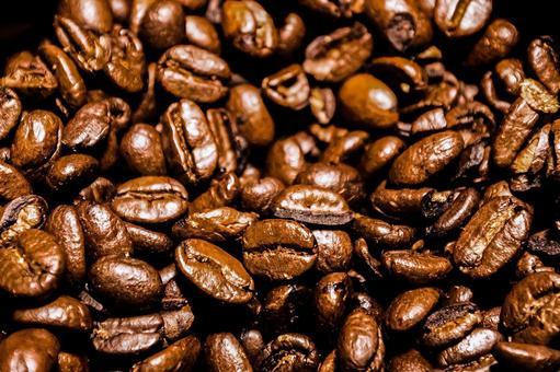 烘焙過的咖啡豆