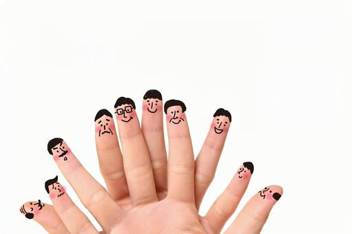 Cute finger staff 1