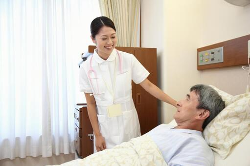 Nurse and male patient 5