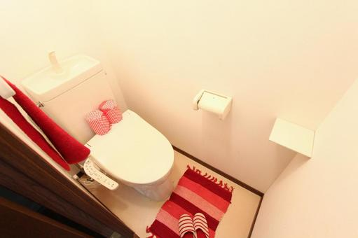 Model room toilet
