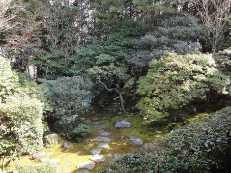 초목 무성한 정원
