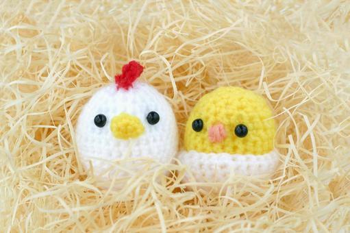 Chicken and child child Amami-kun 3