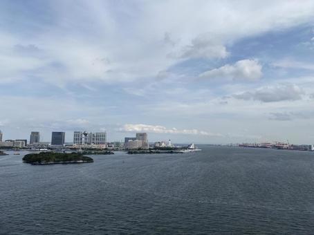 Scenery of Tokyo Bay