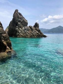 Amami Kakeromajima Sea