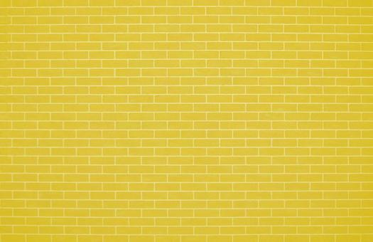 Yellow brick tiles | Free background material for cute brick walls