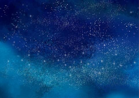 Starry sky background CG