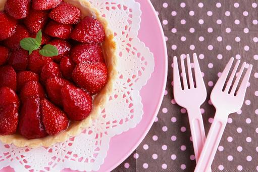 Strawberry tart