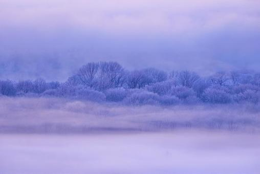 Storm and fog ice
