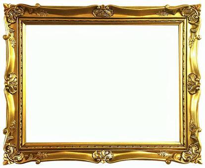 Antique gold frame 8