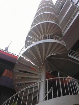 Staircase 21 - spiral staircase
