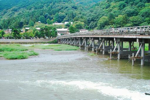 Togetsu Bridge · summer