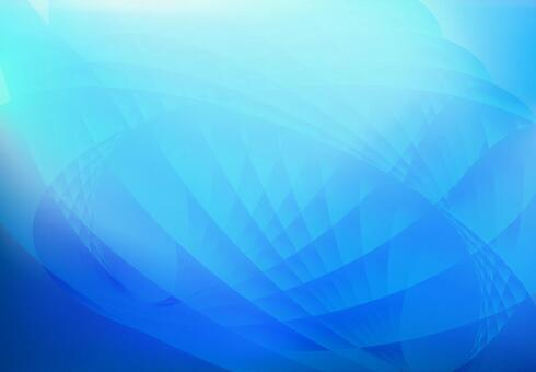Blue streamlined abstract background material