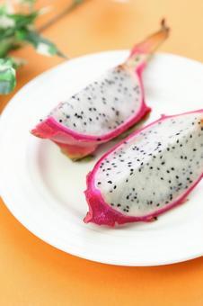 Cut dragon fruit 9