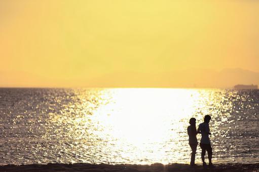 로맨틱 한 해변 데이트 7