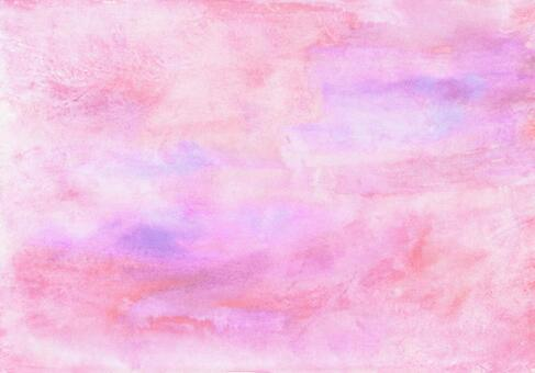 Background texture material watercolor pink gradient