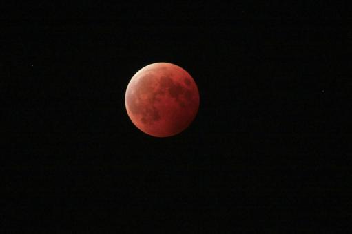 Total lunar eclipse (brightest)