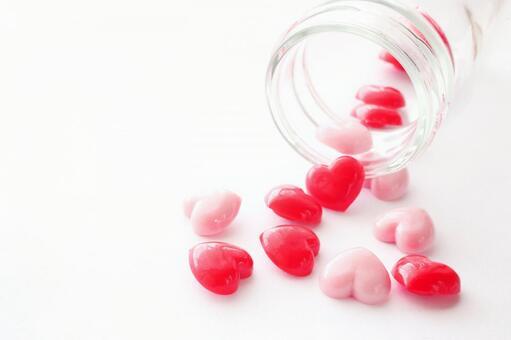 Heart Vitamin Love Image Material