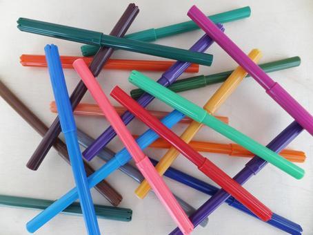 컬러 펜 1