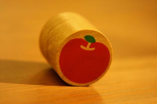积木的苹果