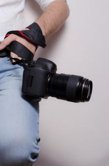 Male with camera 2