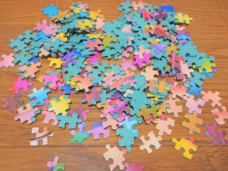 퍼즐 조각 (플로어, 많은)