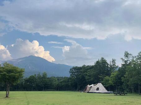 Camping plateau