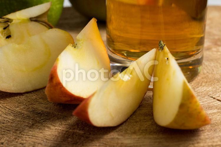 リンゴとドリンク11の写真