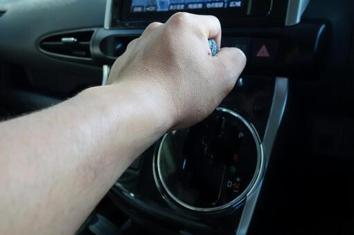 Car and hand 3