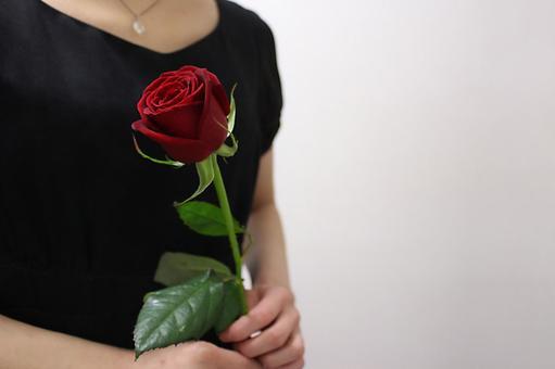 玫瑰2(側身)