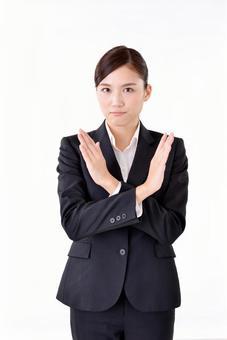 Female in suit suit 21