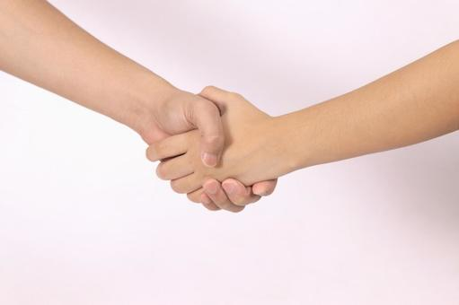 手部件(握手)2
