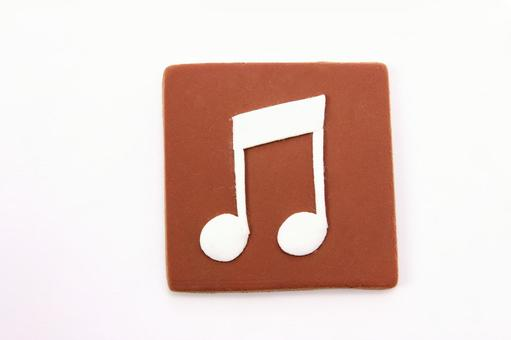 Clay art icon music