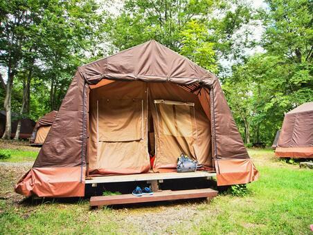 여름 텐트