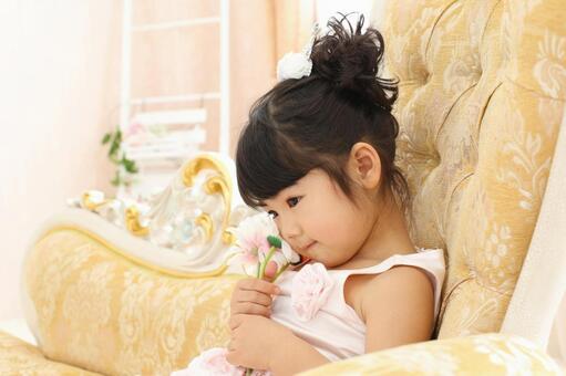 Princess mood girl