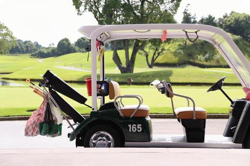 Golf course cart 3