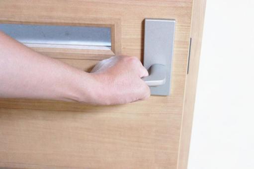 Hand to open the door 3